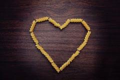 Amore degli spaghetti fotografia stock