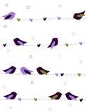 Amore degli uccelli illustrazione di stock