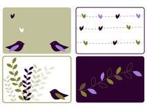 Amore degli uccelli Immagine Stock