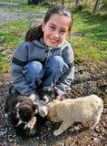 Amore dei cuccioli immagine stock