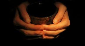 Amore del caffè fotografia stock libera da diritti