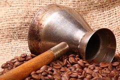 Amore del caffè Fotografie Stock