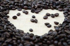 Amore del caffè Immagine Stock