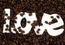 Amore del caffè Immagine Stock Libera da Diritti