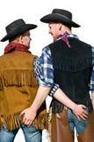 Amore del cowboy Fotografie Stock Libere da Diritti