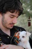 Amore del cucciolo Immagine Stock Libera da Diritti