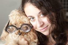 Amore del cucciolo Immagini Stock