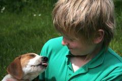 Amore del cucciolo Fotografia Stock Libera da Diritti