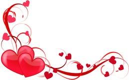 Amore del cuore illustrazione vettoriale