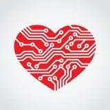 Amore del cuore Immagini Stock