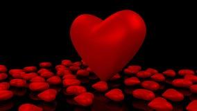 Amore del cuore Fotografia Stock