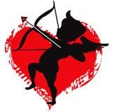 Amore del Cupid Fotografia Stock Libera da Diritti