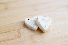 Amore del formaggio Immagine Stock