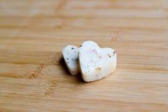 Amore del formaggio Fotografia Stock