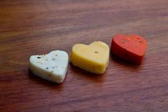 Amore del formaggio Fotografie Stock Libere da Diritti