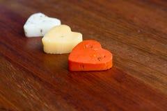 Amore del formaggio Fotografie Stock