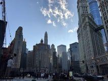 Amore del grattacielo Immagini Stock Libere da Diritti