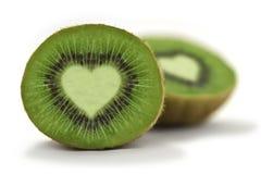 Amore del Kiwifruit fotografie stock libere da diritti