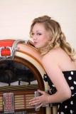 Amore del mio jukebox Fotografie Stock Libere da Diritti
