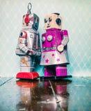 Amore del robot Fotografie Stock Libere da Diritti