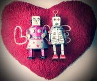 Amore del robot Fotografia Stock