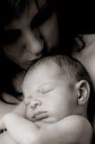 Amore del `s della madre Fotografie Stock Libere da Diritti