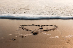 Amore dell'oceano Immagini Stock Libere da Diritti