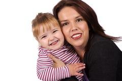 Amore della figlia e della madre Fotografia Stock
