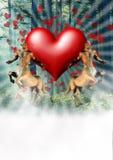 Amore della foresta Immagini Stock