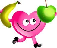 Amore della frutta illustrazione di stock