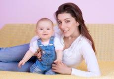 Amore della madre. fotografie stock