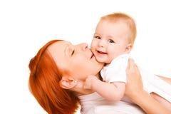 Amore della madre Immagini Stock Libere da Diritti