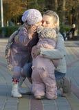 Amore della mummia Fotografia Stock