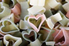 Amore della pasta Fotografie Stock Libere da Diritti