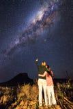 Amore della Via Lattea Fotografia Stock Libera da Diritti