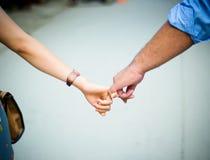 Amore delle coppie Immagine Stock