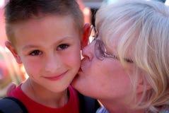 Amore delle nonne Fotografie Stock Libere da Diritti