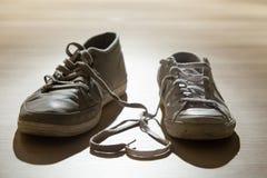 Amore delle scarpe Fotografie Stock