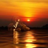 Amore di acqua Fotografie Stock