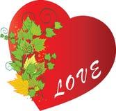 Amore di autunno Immagini Stock Libere da Diritti