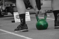 Amore di CrossFit Kettlebell immagini stock libere da diritti