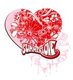 Amore di estate Fotografie Stock Libere da Diritti