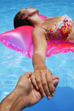 Amore di estate Immagine Stock