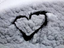 Amore di inverno Immagini Stock