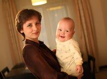 Amore di madri Fotografia Stock