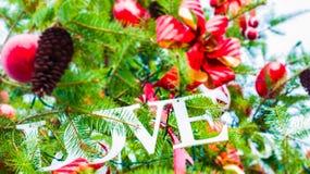 Amore di Natale immagine stock