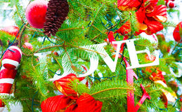 Amore di Natale Fotografie Stock