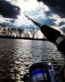 Amore di pesca Fotografia Stock Libera da Diritti