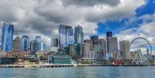 Amore di Seattle Immagini Stock Libere da Diritti