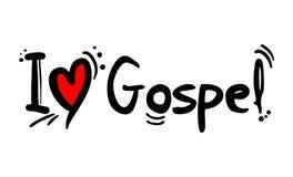 Amore di stile di gospel royalty illustrazione gratis
